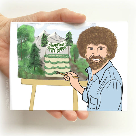 Happy Trees Happy Birthday Funny Birthday Card