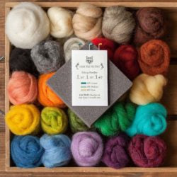 Needle Felting Starting Kit -  Beginner Level