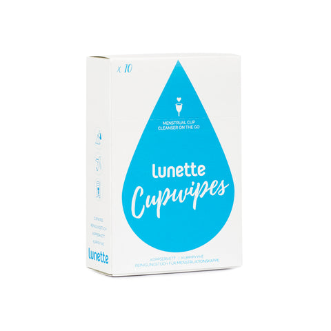 Disinfecting Menstrual Cup Wipes