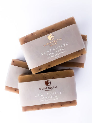 Camp Coffee Natural Bar Soap