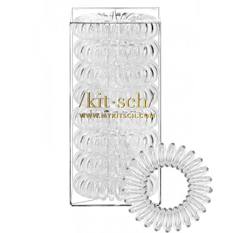 Transparent Hair Coil - Pack of 8