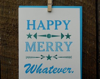 Happy Merry Whatever - 8 Card Pack