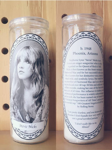 Feminist Icon Votive Candles - Stevie Nicks