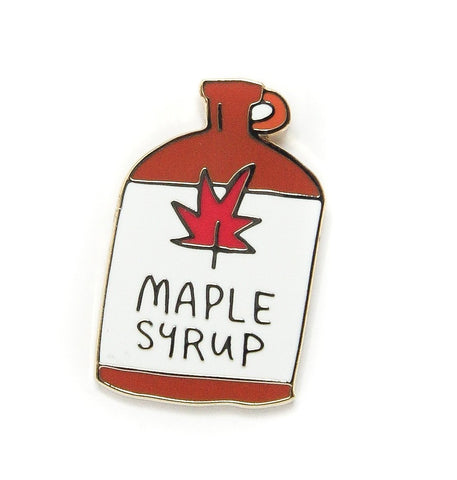 Maple Syrup Enamel Pin
