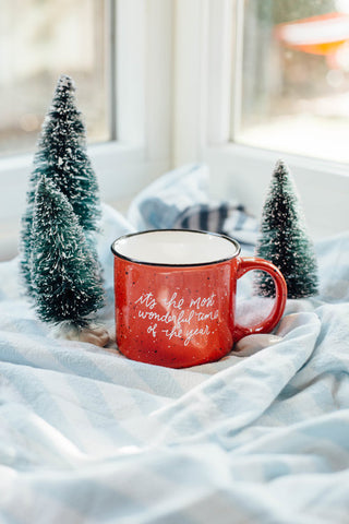It's the most wonderful time of the year mug