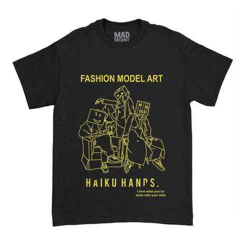 Haiku Hands - Fashion Model Art Tee + Digital Single