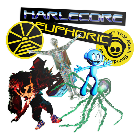 Danny L Harle - Harlecore Sticker Pack