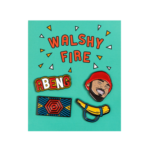 Walshy Fire - Enamel Pin Set