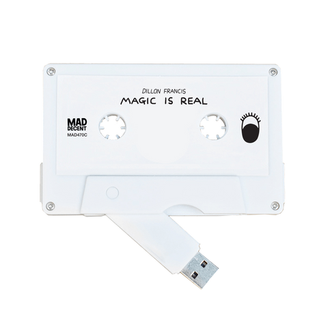 Dillon Francis - 'Magic Is Real' Cassette USB + Digital