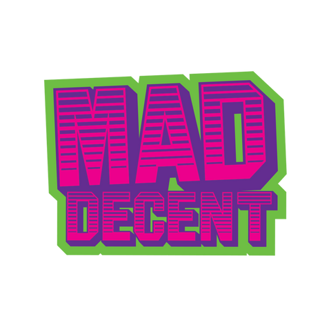 Old School Mad Decent Sticker
