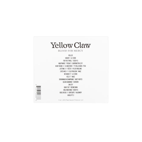 Yellow Claw - 'Blood for Mercy' CD