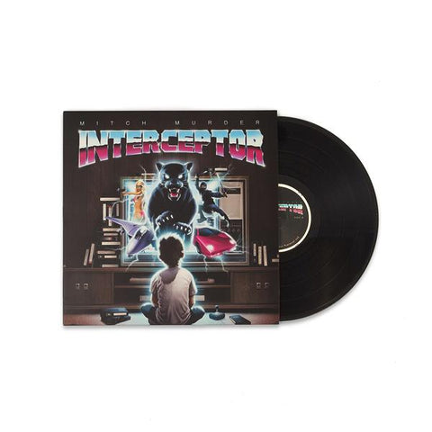 "Mitch Murder - 'Interceptor' Vinyl + ""Lit"" Flexi Disc"