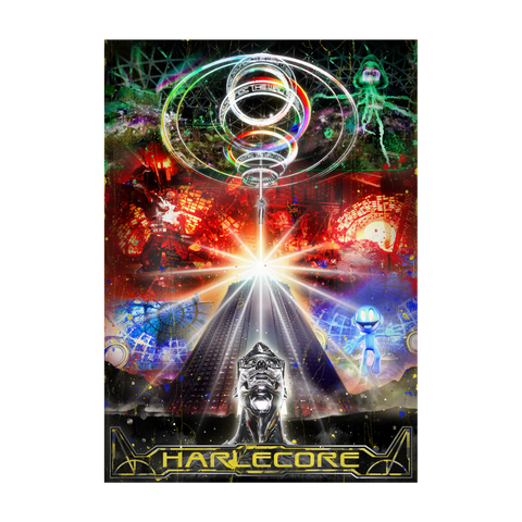 Danny L Harle - Harlecore Poster