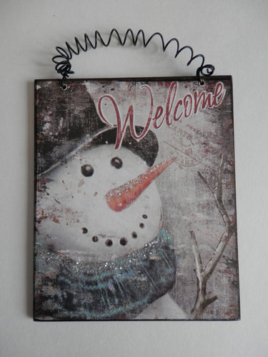 Winter Wall Hanging -