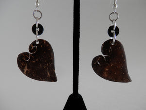 Daughters of Cambodia - Bamboo Heart Earrings