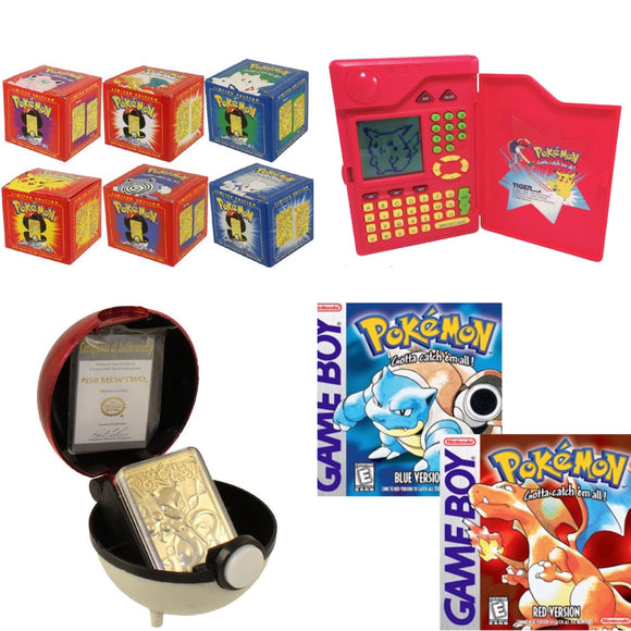 Rare Pokemon Collectibles