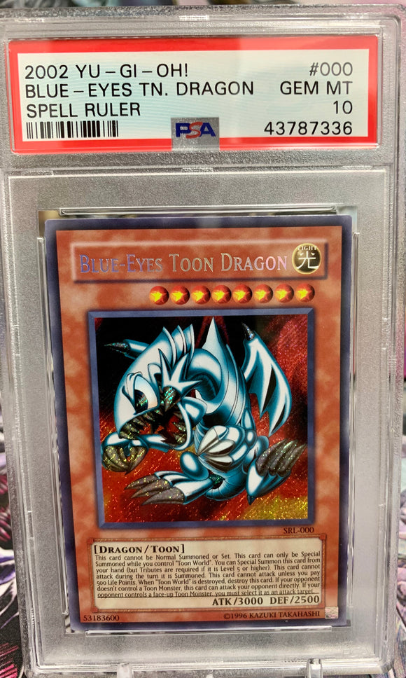 Yugioh PSA Graded Cards