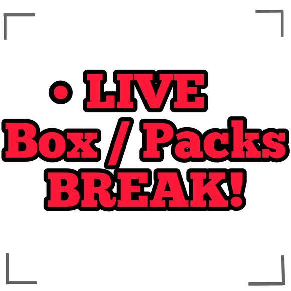 Live Box & Personal BREAKS