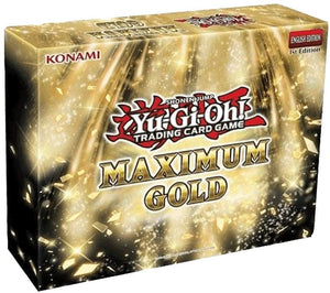 Yugioh Maximum Gold Mini-Box Set 1st Edition (Sealed)