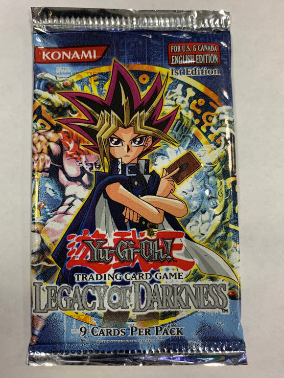 Yugioh Legacy of Darkness Booster-Pack (1st Edition)