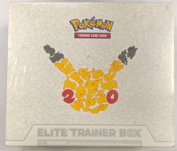 Pokémon Generations Elite Trainer Box (Sealed) 20th Anniversary Set