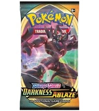 Pokemon Darkness Ablaze Booster-Pack Sealed (Random Artwork)