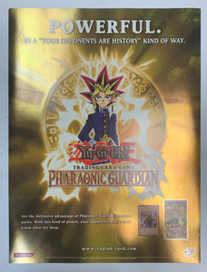 "Yugioh Pharaonic Guardian Poster High Quality Promo Poster (18"" x 24"") Upper Deck"