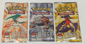 Pokemon Pop Series 7, 8, & 9 Booster-Pack (Sealed)