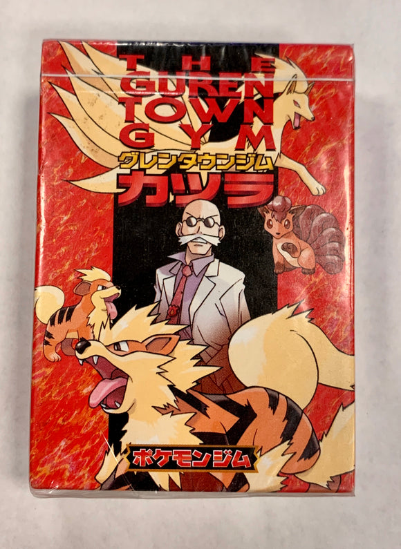 Pokemon Blaine The Guren Town Gym Pocket Monsters Theme Deck - Japanese (Sealed)