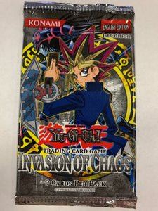 Yugioh Invasion of Chaos Booster-Pack (1st Edition)