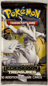 Pokemon Legendary Treasures Booster-Pack (Reshiram Art)