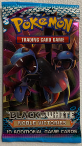 Pokemon Black & White Noble Victories Booster-Pack (Hydreigon Art)