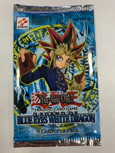 Yugioh Legend of Blue-Eyes White Dragon Booster-Pack (1st Edition) Sealed