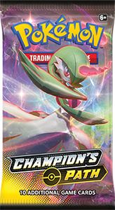 Pokemon Champion's Path Booster-Pack (Random Artwork)