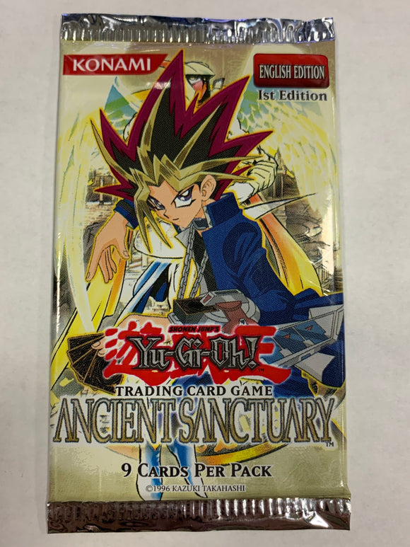 Yugioh Ancient Sanctuary Booster-Pack (1st Edition) Sealed