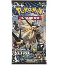 Pokemon Sun & Moon Ultra Prism Booster-Pack Sealed (Random Artwork)
