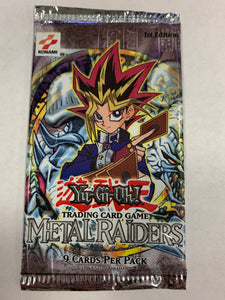 Yugioh Metal Raiders Booster-Pack (1st Edition) Sealed