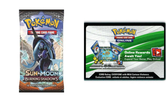 Burning Shadows PTCGO Code Pokemon TCG Online (Emailed)