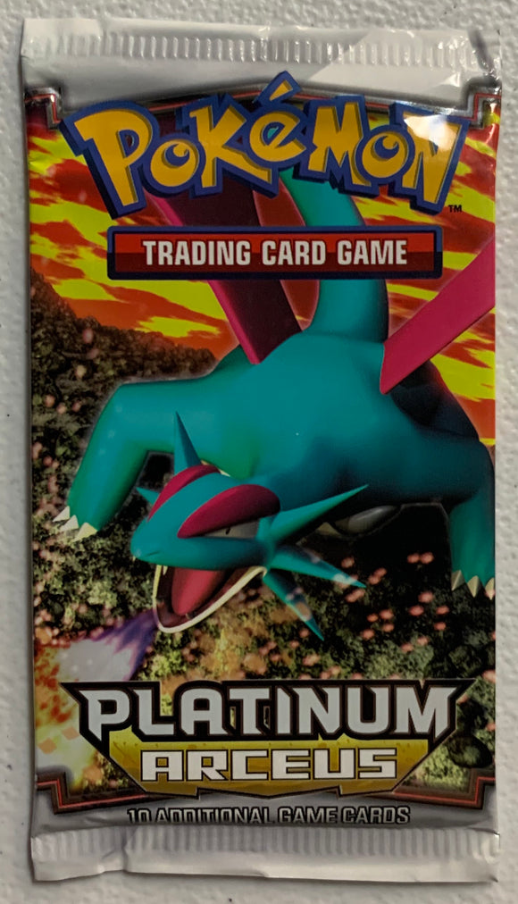 Pokemon Platinum Arceus Booster-Pack (Salamence Art)