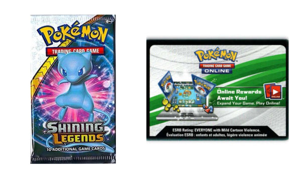 Shining Legends PTCGO Code Pokemon TCG Online (Emailed)