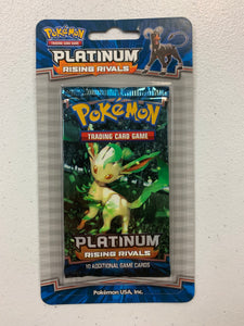 Pokemon Platinum Rising Rivals Blister Booster-Pack (Leafeon Art)