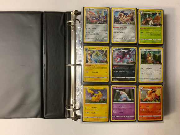 Pokemon Darkness Ablaze Master Set - COMPLETE With Binder + Extra Promos