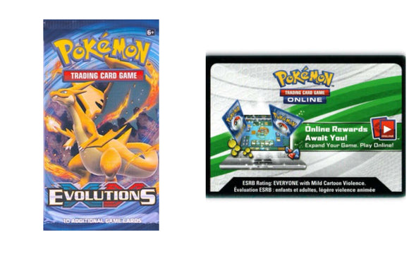 Evolutions PTCGO Code Pokemon TCG Online (Emailed)