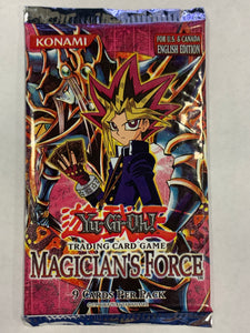 Yugioh Magician's Force Booster-Pack (Unlimited) Sealed