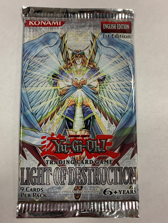 Yugioh Light of Destruction Booster-Pack (1st Edition)