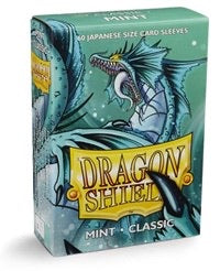 Dragon Shield Classic Japanese Sleeves - Mint (60-Pack) SMALL