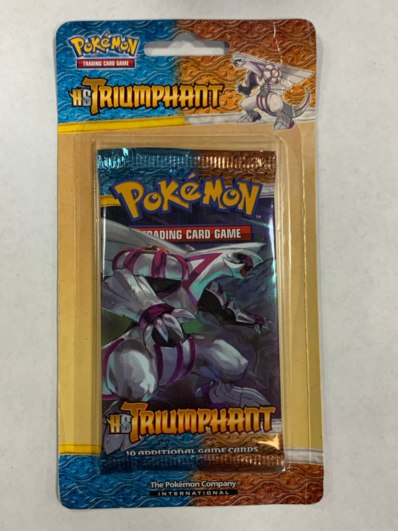 Pokemon HS Triumphant Blister Booster-Pack (Palkia Art)
