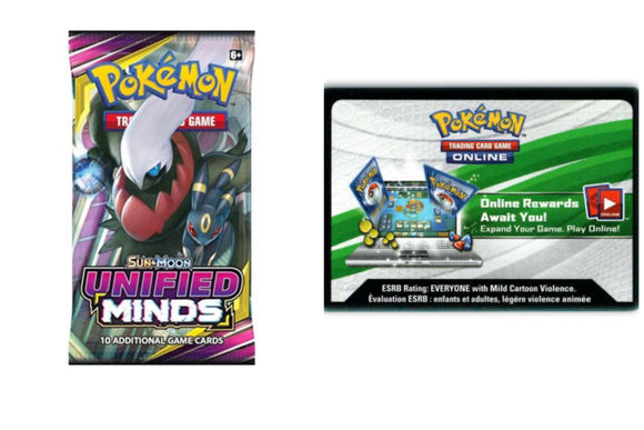 Unified Minds PTCGO Code Pokemon TCG Online (Emailed)