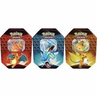Pokemon Set of 3 Hidden Fates Tin (Sealed)