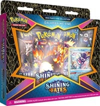 Pokemon Shining Fates Mad Party Pin Collection [Galarian Mr. Rime] (Sealed)